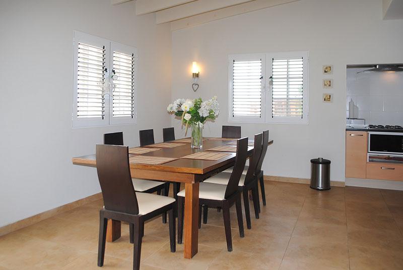 Vakantiehuis Aruba Villa La Granda - Eethoek